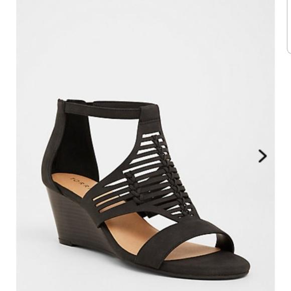 torrid Shoes | Torrid Wedge Sandals